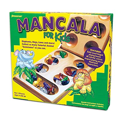 Mancala For Kids - Simple Strategy Game That Appeals to Kids by Pressman: Toys & Games