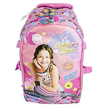 Disney Soy Luna Enjoy Love Mochila Convertible en Trolley con Ruedas Bolso Escolar Nina Chicas Moda: Amazon.es: Equipaje