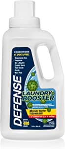 Defense Soap Laundry Booster Fabric Shield 32oz - Use with Detergent to Prevent Odor and Staining
