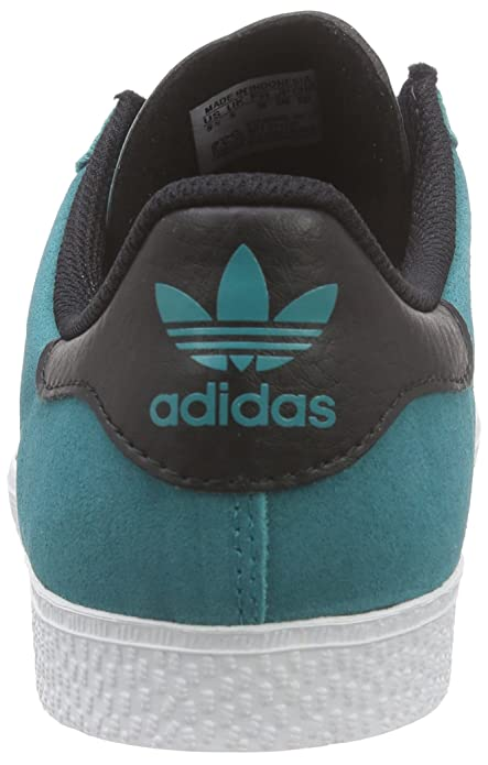 outlet store 5a47e f3ddf adidas Gazelle 2, Unisex Kids  Trainers, Turquoise (Eqt Green S16 Core Black  Ftwr White), 5 UK (38 EU)  Amazon.co.uk  Shoes   Bags