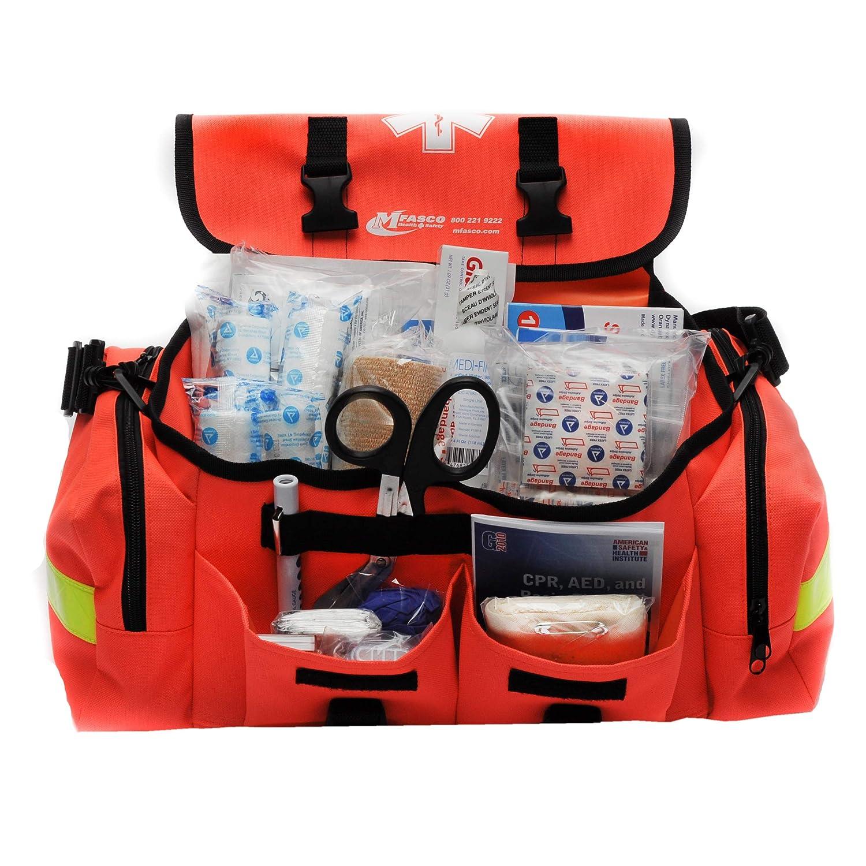 Amazon Com First Aid Kit Emergency Response Trauma Bag Complete Industrial Scientific