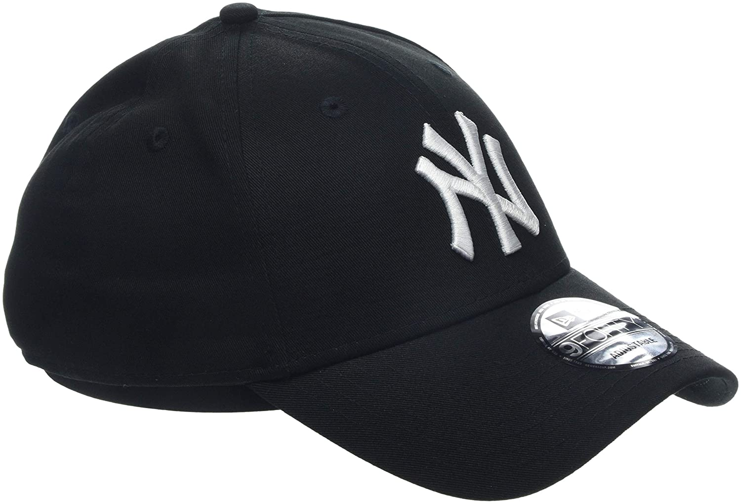 a5f1cf48 New Era Men's MLB Basic NY Yankees 9Forty Adjustable Baseball Cap:  Amazon.co.uk: Clothing
