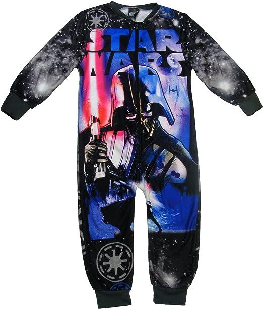 Star Wars - Pijama de una pieza - para niño Negro negro 2-3 ...