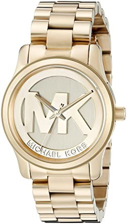 c6bf667f07cb Amazon.com  Michael Kors Women s Runway Gold-Tone Watch MK5786 ...