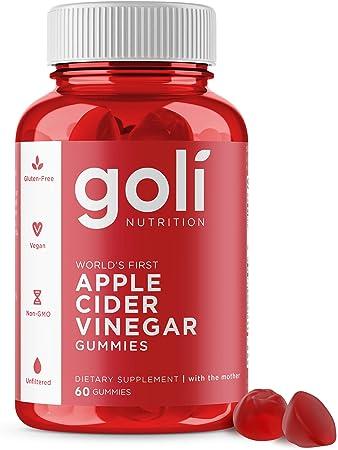 Natural Apple Cider Vinegar Gummies - Immunity & Detox