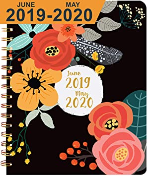 Planner 2019 2020, Academic Year ~ Boost Productivity, Obtain Straight A's, Hit Big Goals ~ Daily, Weekly, Monthly Calendar Agenda ~ Develop Positive Habits & Discover Your Best You! by Santa Barbara Specialties