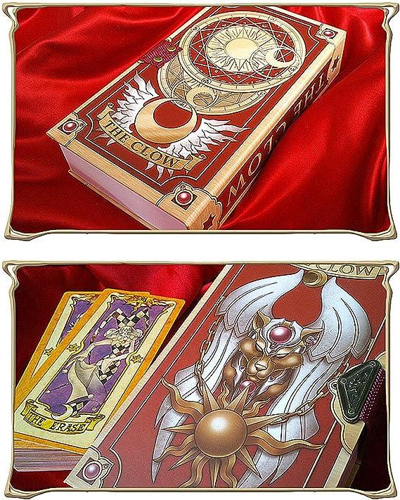 2020 New Card Captor Sakura Kinomoto Cosplay Clow Cards Set 53Pcs Birthday Gift