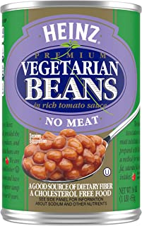 product image for Heinz Vegetarian Beans in Rich Tomato Sauce, 16 oz Can