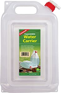 Coghlan's Expandable Water Carrier, 2-Gallon , White