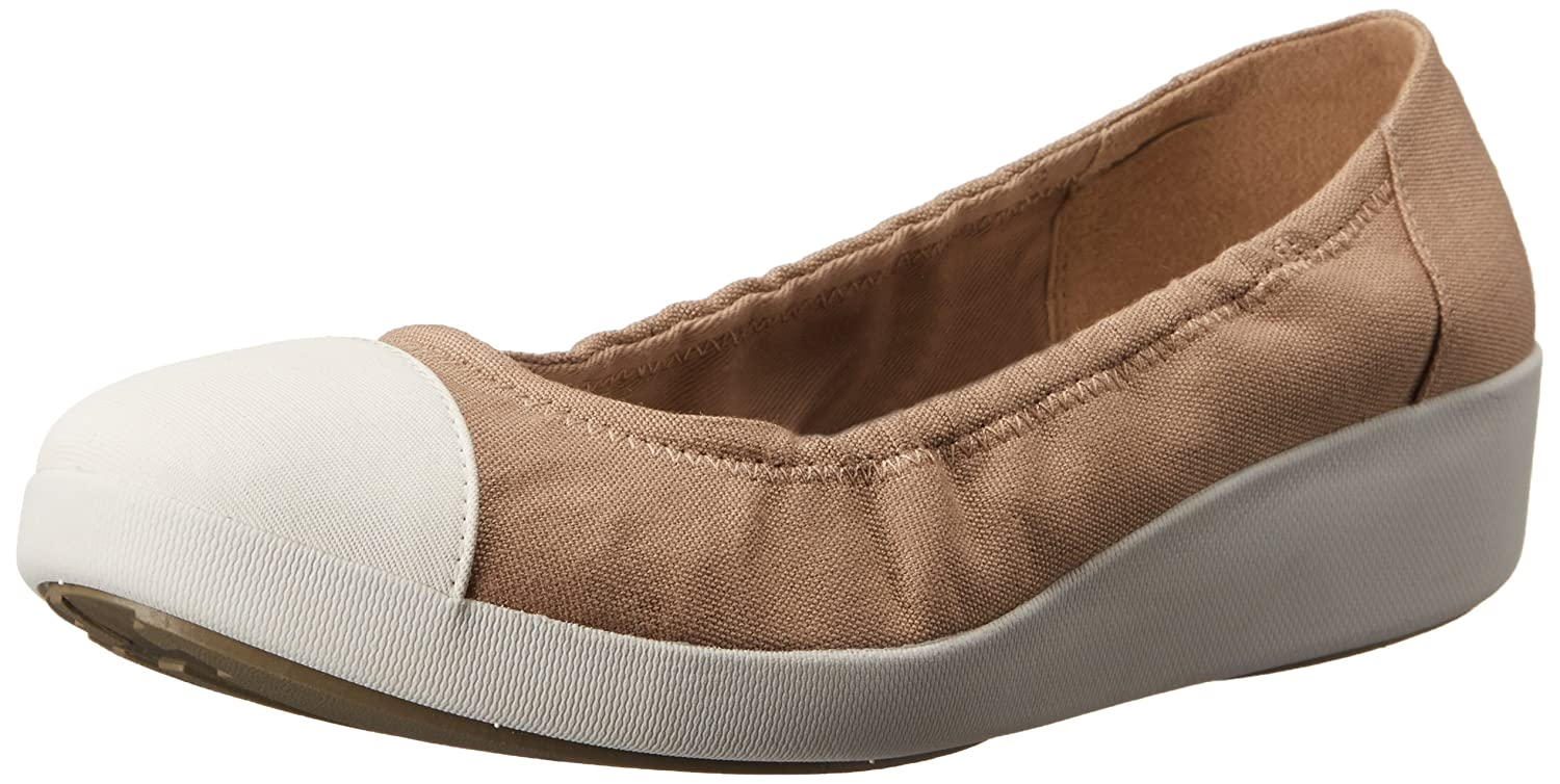 e3a641c9e74a5 Amazon.com | FitFlop Women's F-Pop Ballerina Canvas Ballet Flat | Flats
