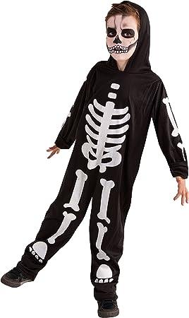 Rubies Disfraz Infantil - Esqueleto Brilla en la Oscuridad 5-7 ...