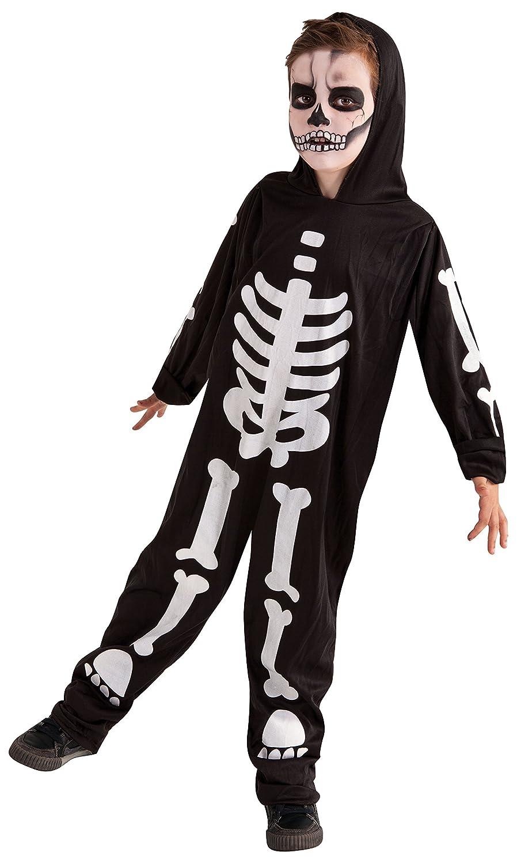 Rubies Disfraz Infantil - Esqueleto Brilla en la Oscuridad 3-4 años