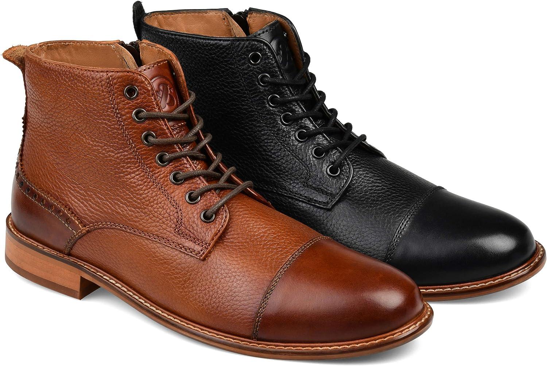 Thomas /& Vine Mens Malcom Cap Toe Ankle Boot