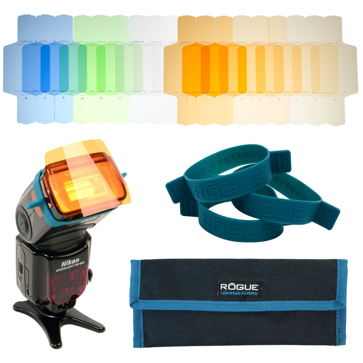 Rogue Photographic Design ROGUEGEL-CC Flash Gels Color Correction Filter Kit by Rogue Photographic Design