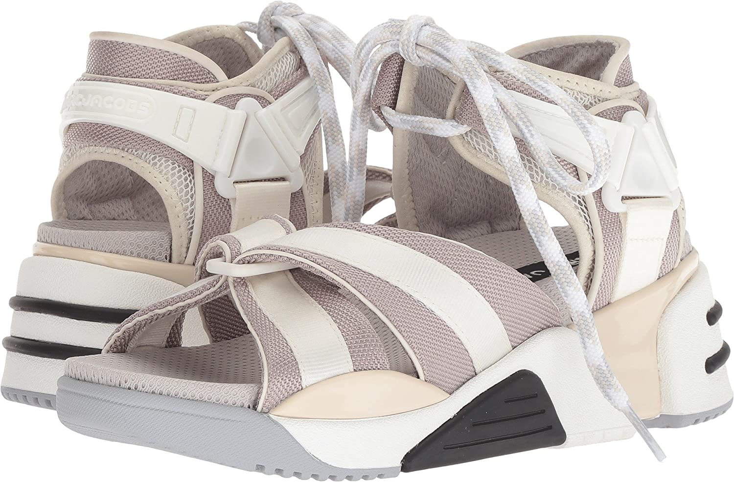 Marc Jacobs Women's Somewhere Sport Sandal B07C9KY83R 39 M EU|Cream Multi