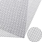 """Stainless Steel 316 Mesh #40 .010 Wire Screen 2pieces 24/""""x20"""""""