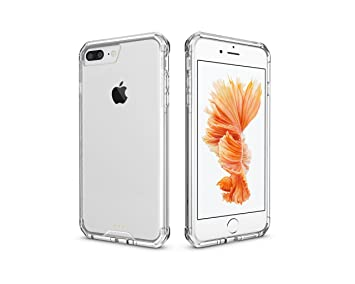 Amazon.com: iPhone 7 Plus Funda, iPhone 8 plus funda, vidrio ...