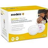 Medela Safe & Dry Ultra Thin Disposable Nursing Pads, 120 Count