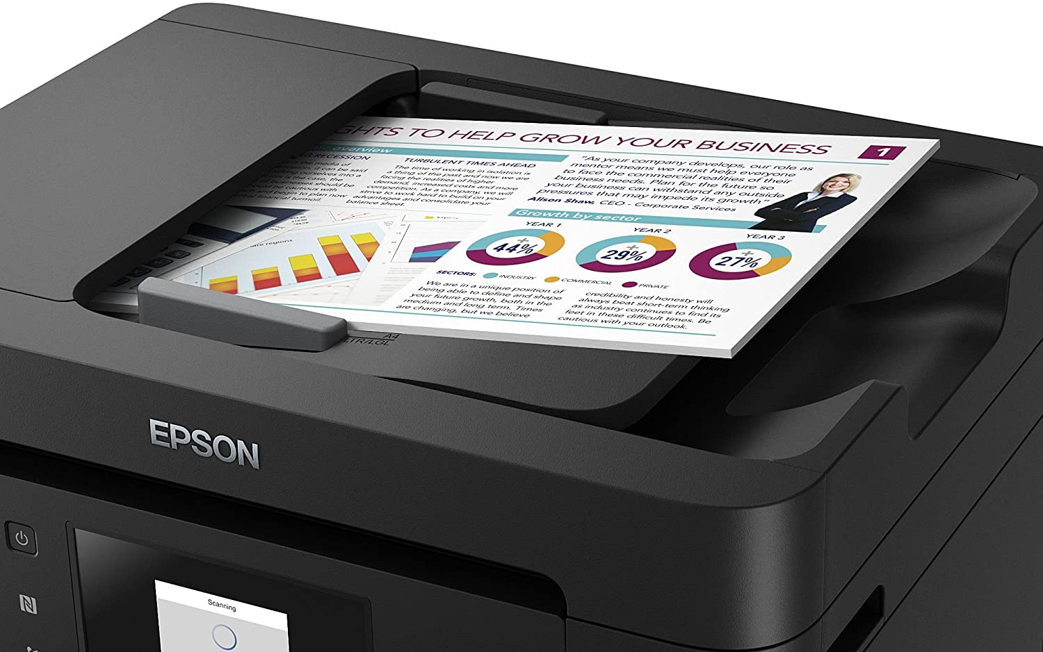 Amazon.com: Epson - Multifunction Printer Epson C11CF74402 ...