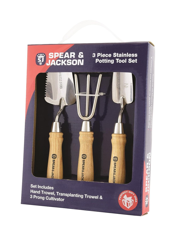 Spear & Jackson POTTING3PS Potting Tool Set - Silver (3-Piece)