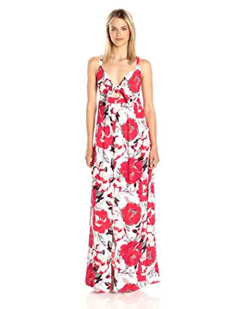 cupcakes and cashmere Women\'s Thorpe Floral Printed Maxi Dress at ...