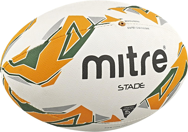 Mitre Stade 4P - Pelota de Rugby: Amazon.es: Deportes y aire libre