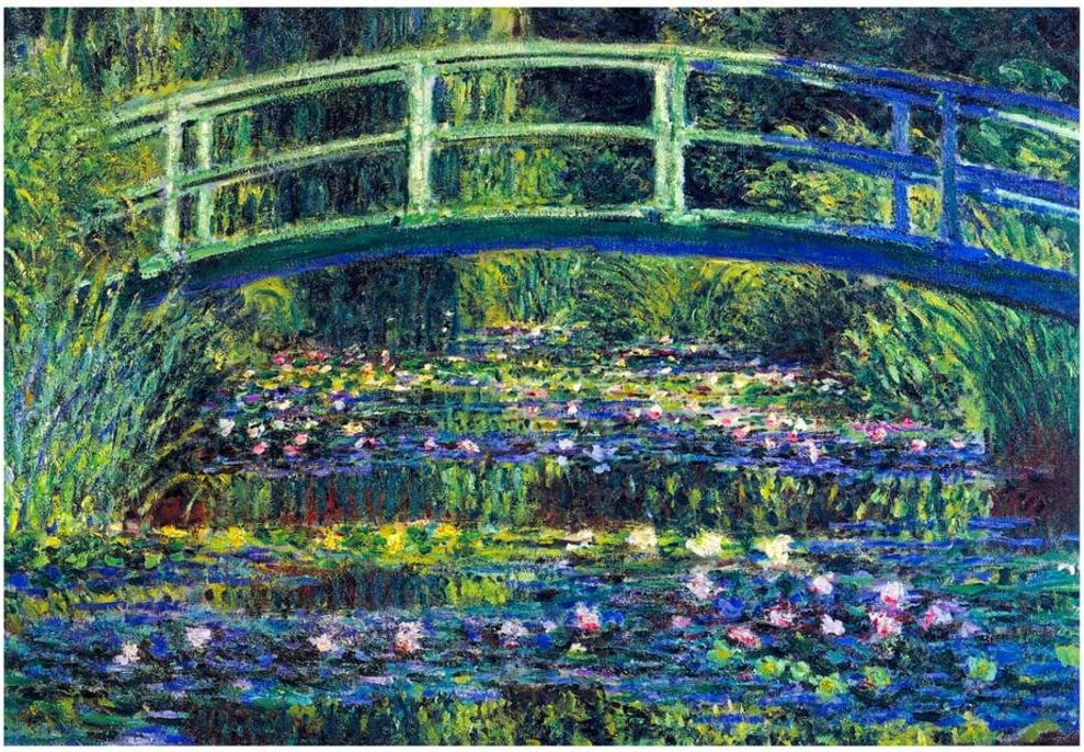 Water Lily Pond #2 by Claude Monet Giclee Fine Art Print Reproduction on Canvas
