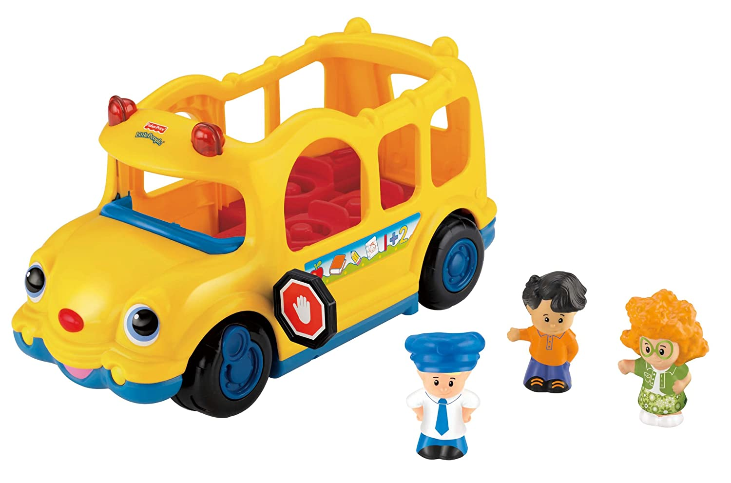 Fisher Price Toy - Little People - Lil Movers School Bus Playset ...