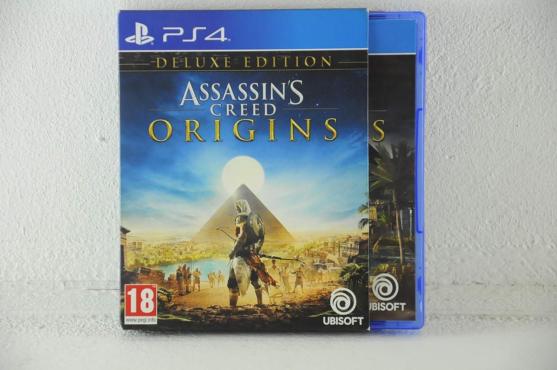 Ubisoft Assassins Creed Origins - Deluxe Edition, PS4 De lujo ...