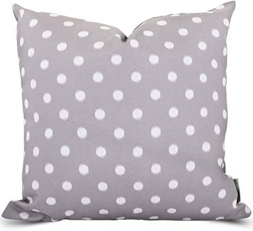 Majestic Home Goods Gray Ikat Dot Indoor Outdoor Large Pillow 20 L x 8 W x 20 H