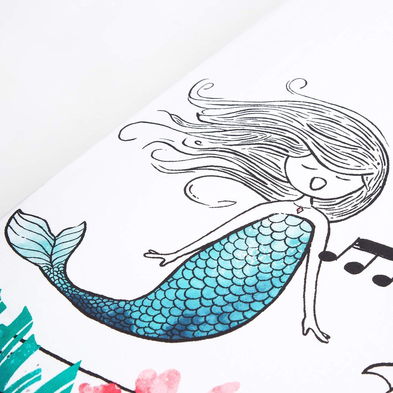 Moonlight Mermaid JumpOff Jo Cotton Crib Sheet