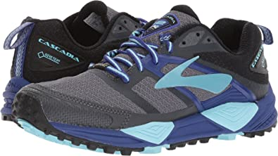 8da835d8f63 Brooks Women s Cascadia 12 GTX¿ Black Ebony Clematis Blue 5 ...