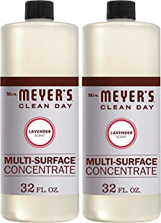 product image for Mrs. Meyer's Clean Day Multi-Surface Cleaner Concentrate, Use to Clean Floors, Tile, Counters,Lavender Scent, 32 oz- Pack of 2
