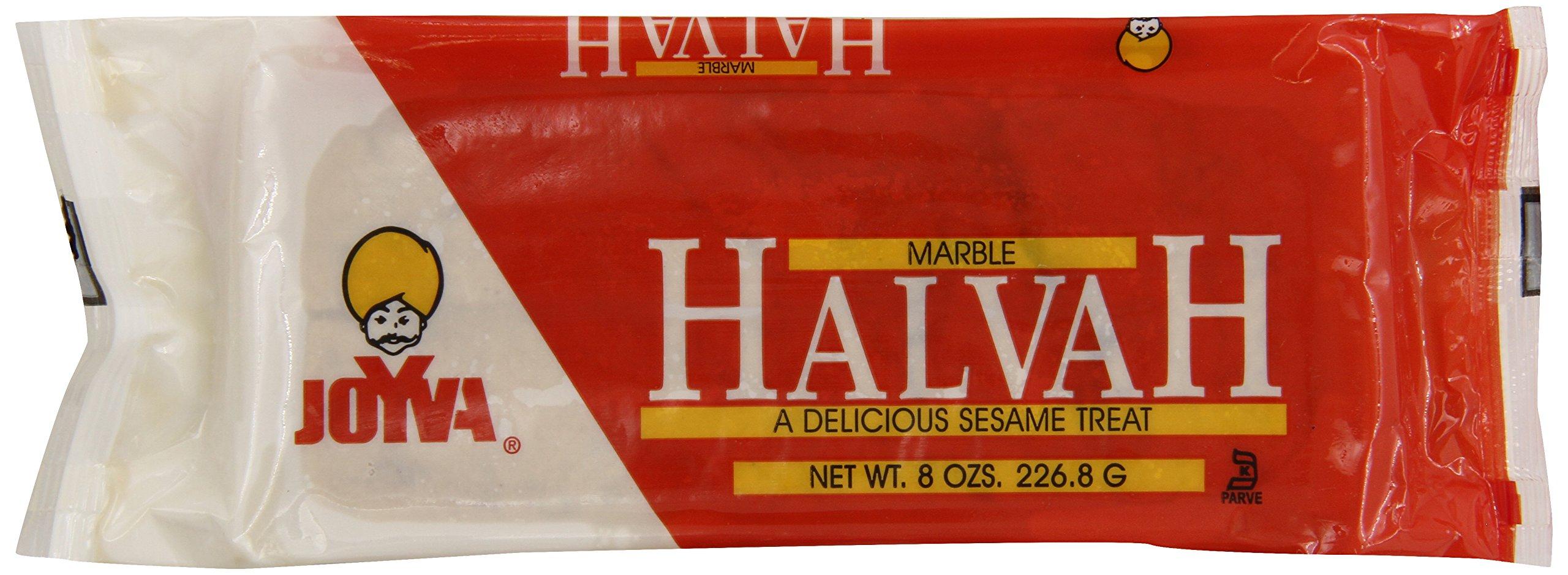 Joyva Halvah Marble Bag, 8-Ounce (Pack of 6) by Joyva