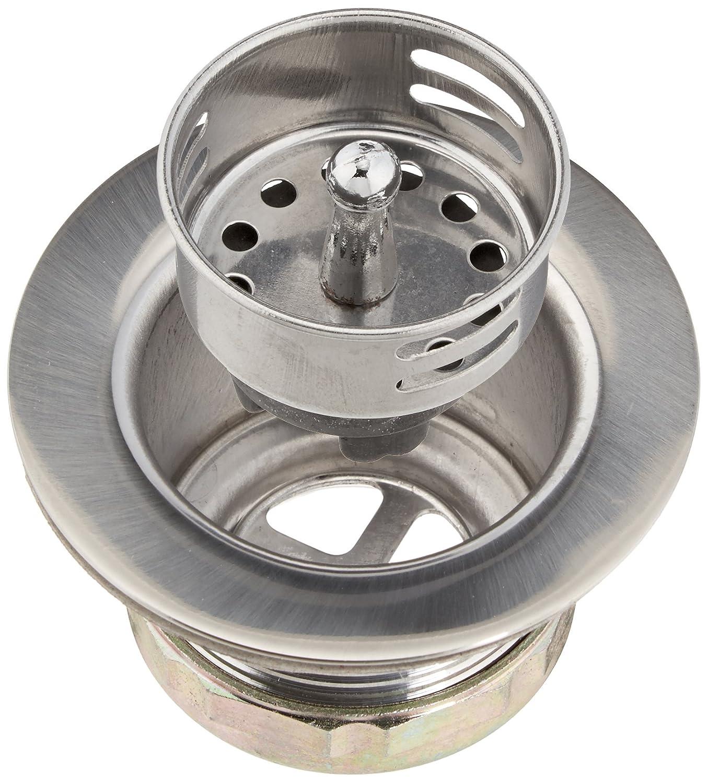 Plumb Pak Keeney 878PC Bar Sink Strainer, Stainless Steel,