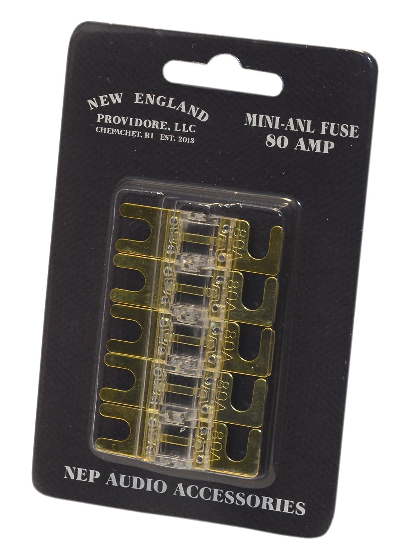 NEP Mini-ANL Fuse 5-Pack 150 Amp