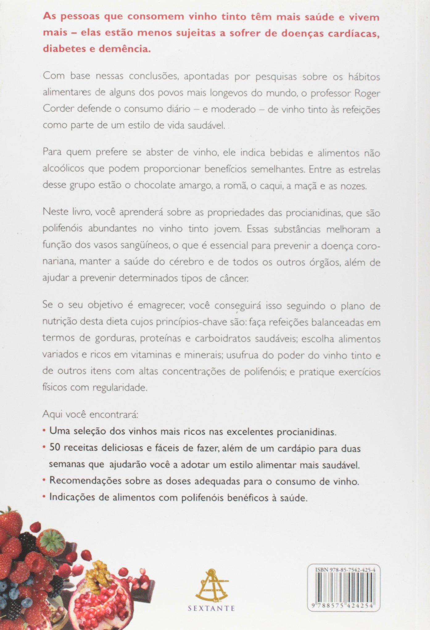 A Dieta Do Vinho (Em Portuguese do Brasil): Roger Corder: 9788575424254: Amazon.com: Books