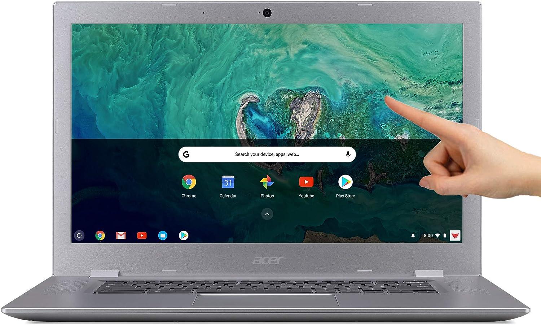 "Acer Chromebook 15.6"" IPS Full HD Intel Celeron N3350 1.10 GHz 4GB LPDDR4 32GB Flash Memory HDR Webcam Chrome OS"