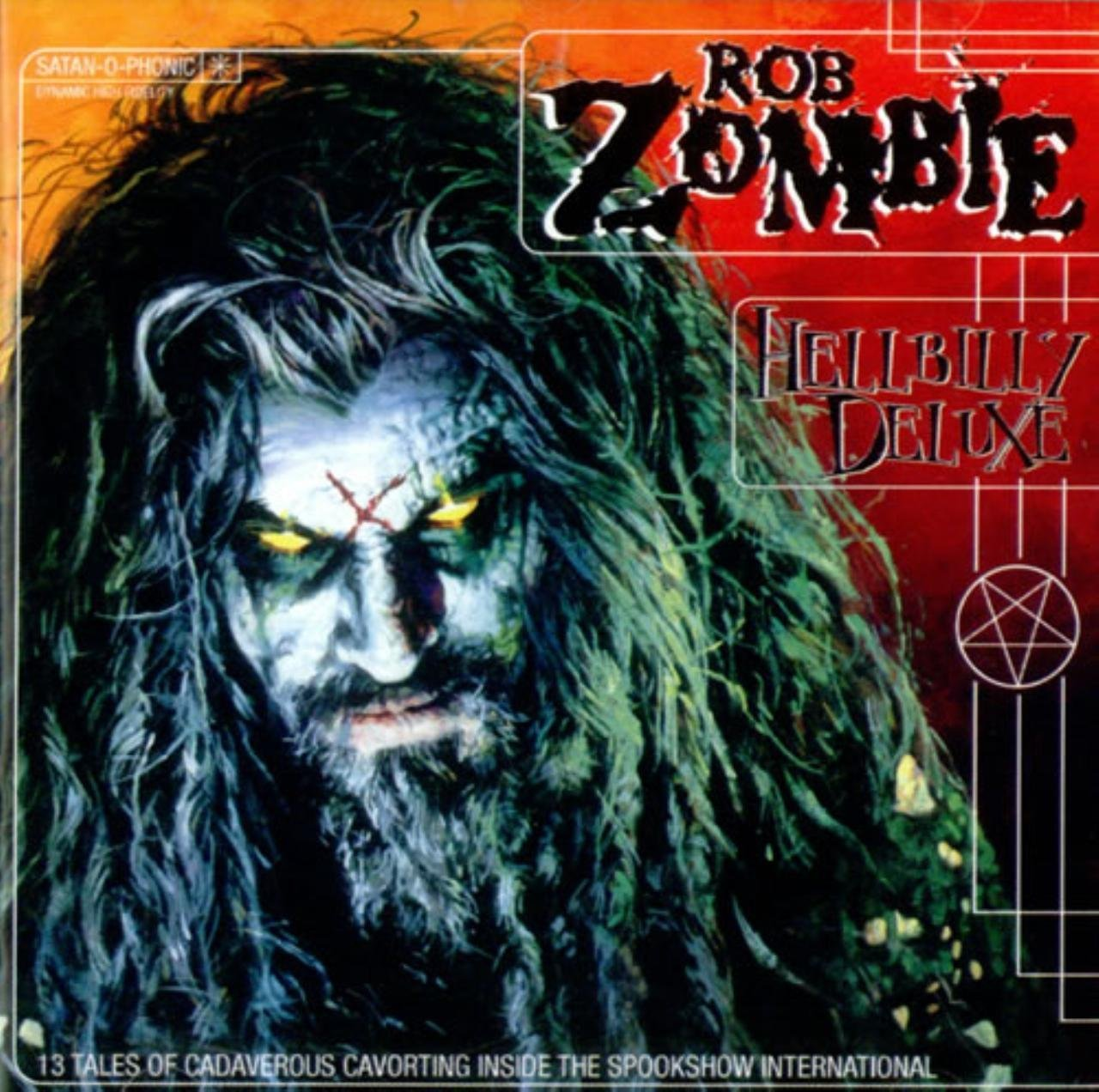CD : Rob Zombie - Hellbilly Deluxe [Explicit Content]