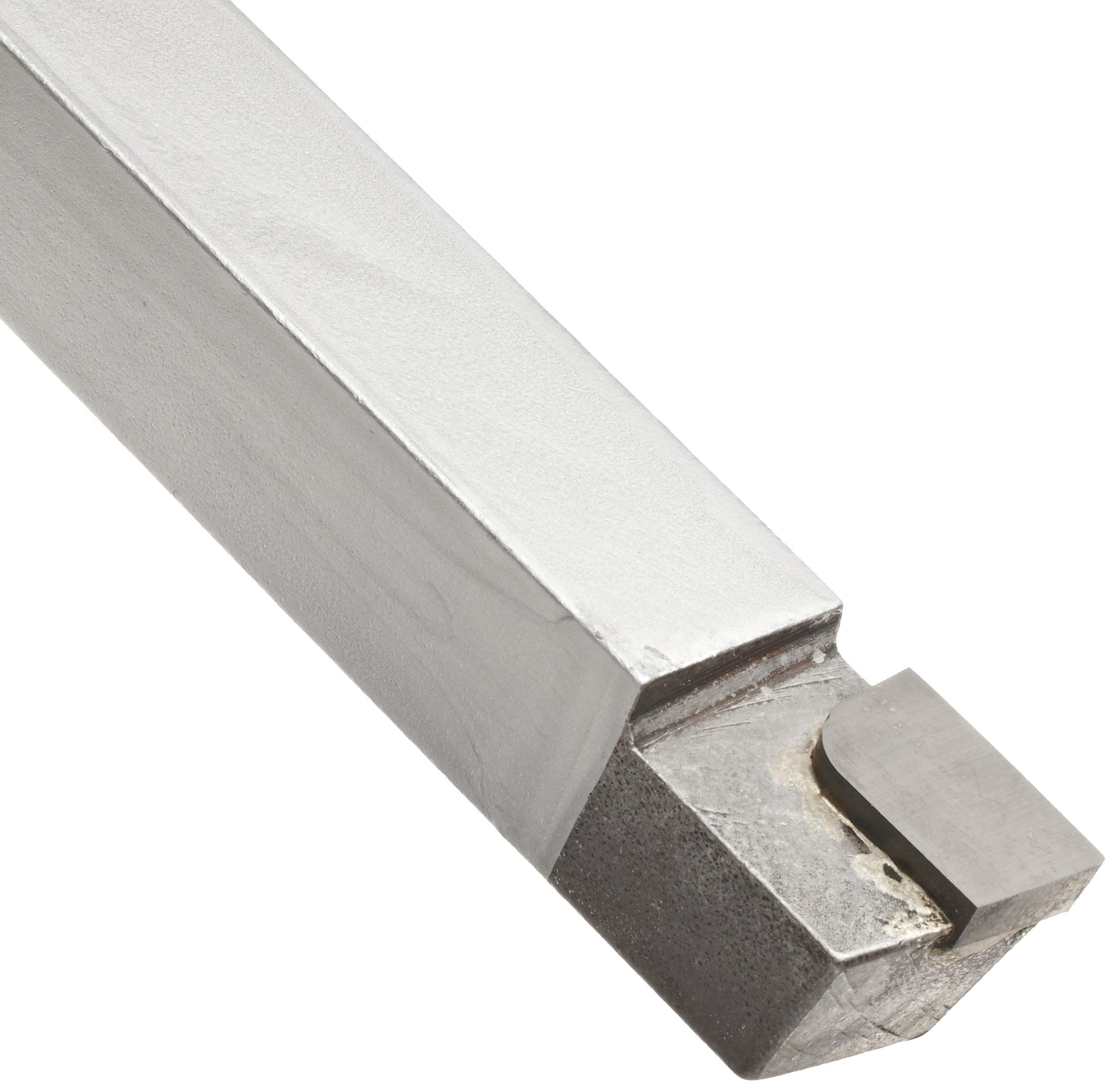 American Carbide Tool Carbide-Tipped Tool Bit for Straight Turning, Right Hand, C2 Grade, 0.25'' Square Shank, AR 4 Size