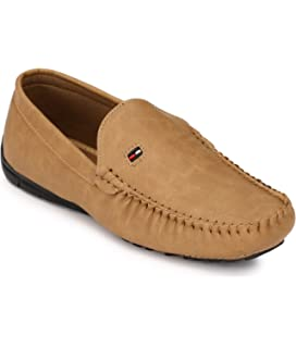 Shoe Smith Woodland Men Tan Loafers Shoe available at Amazon for Rs.699