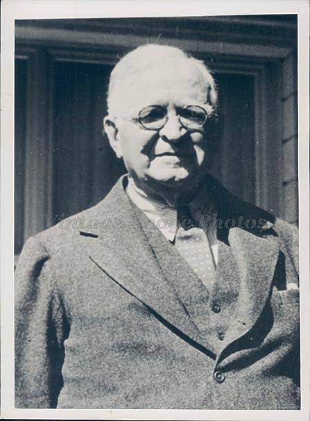 1936 Photo Paul Cravath Famous American Legal Authority Director Corporation