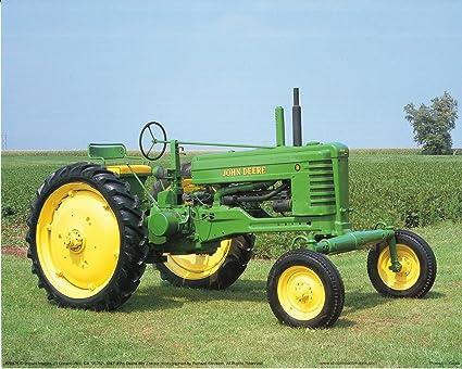 Amazon.com: 1947 John Deere Vintage Farming Tractor Wall Decor Art ...