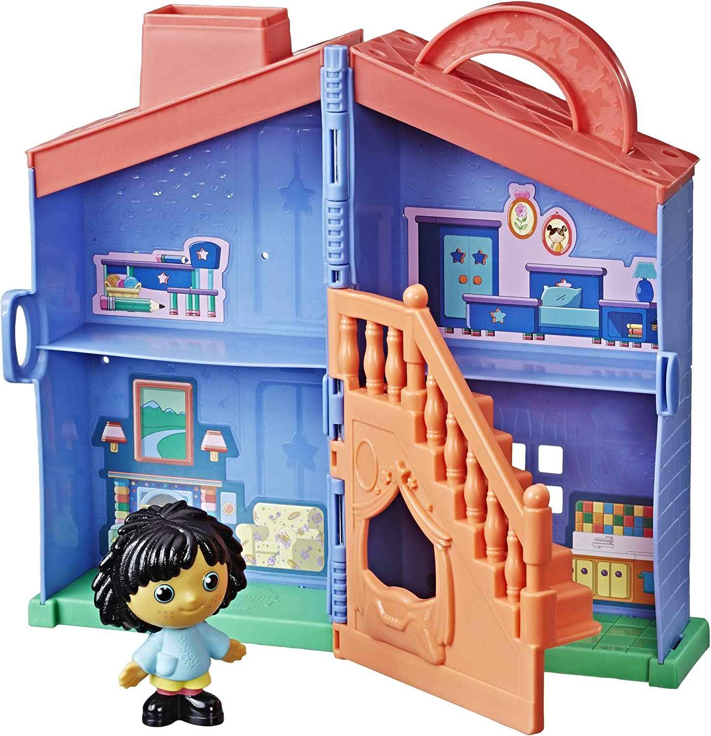 Moon and Me Brand New On the Go Toyhouse Playset