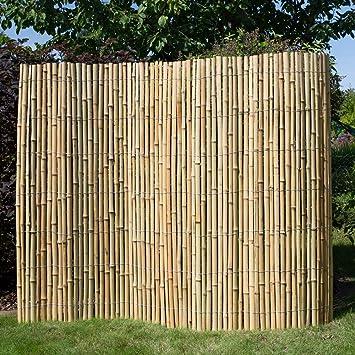 Brise-vue Canisse bambou Clôture Clôture en bois tapis Bambou ...