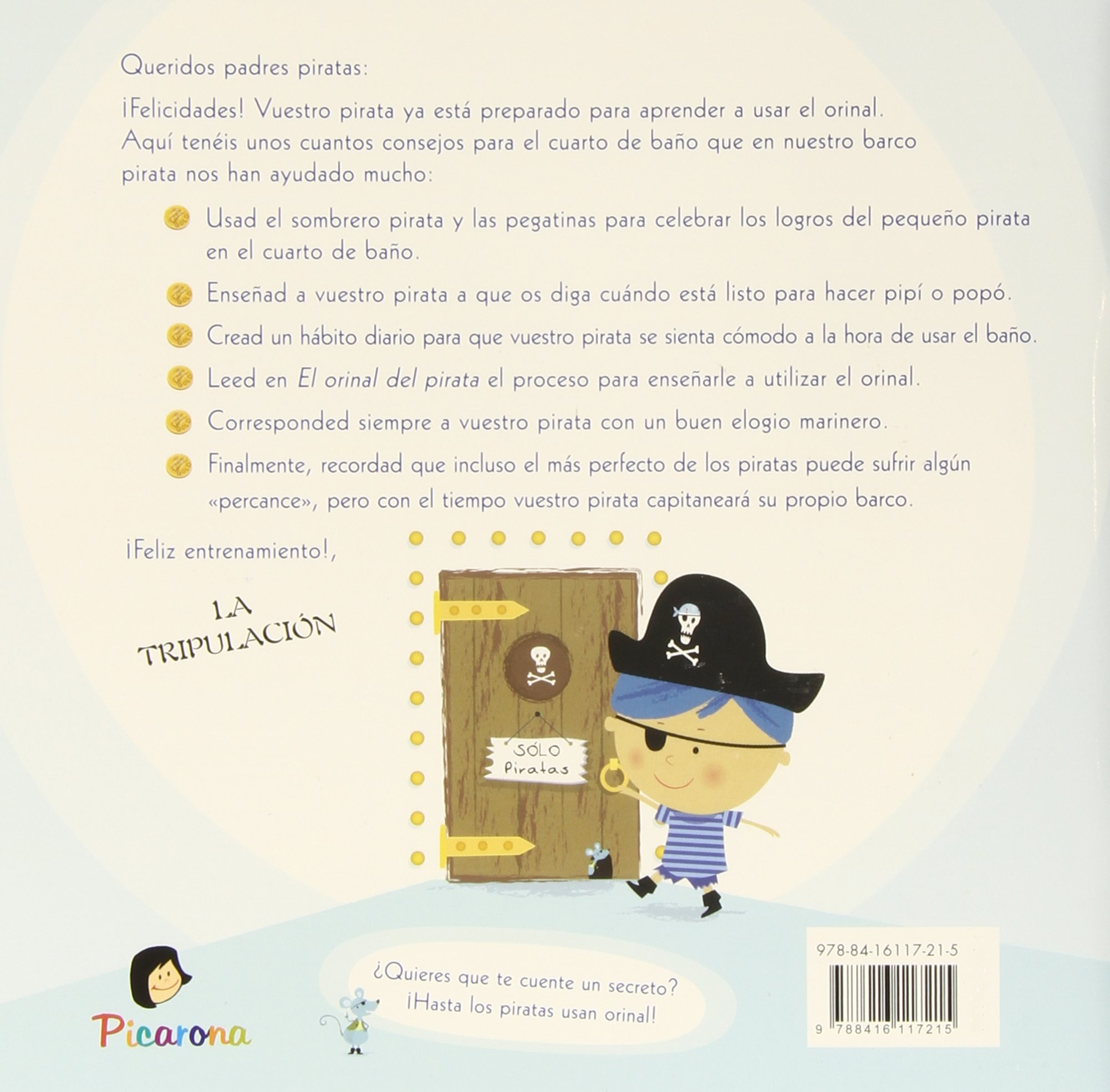 El orinal del pirata (Spanish Edition): Samantha Berger: 9788416117215: Amazon.com: Books