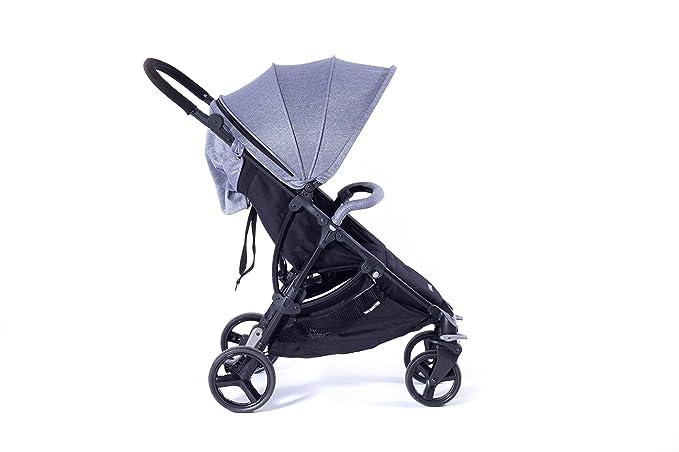 Baby Monsters BMC-911, Capucha para carrito de bebé, Gris: Amazon.es: Bebé