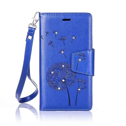 9 opinioni per Per LG K5 (5.3 Pollici) Custodia ZeWoo® Strass Custodie in PU Pelle Case Cover-