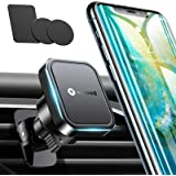 VICSEED Phone Car Holder[Big Phone Friendly] Magnetic Phone Car Mount [6× Strong Magnet] Air Vent Magnetic Car Phone Holder f