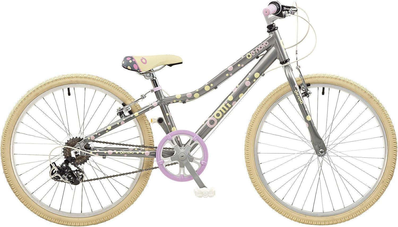 24 Pulgadas galano dotti de 24 atb bicicleta juvenil (aluminio Niñas A Partir de 8 años bicicleta mountain bike MTB Kids: Amazon.es: Deportes y aire libre
